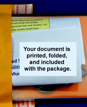 add an extra document.