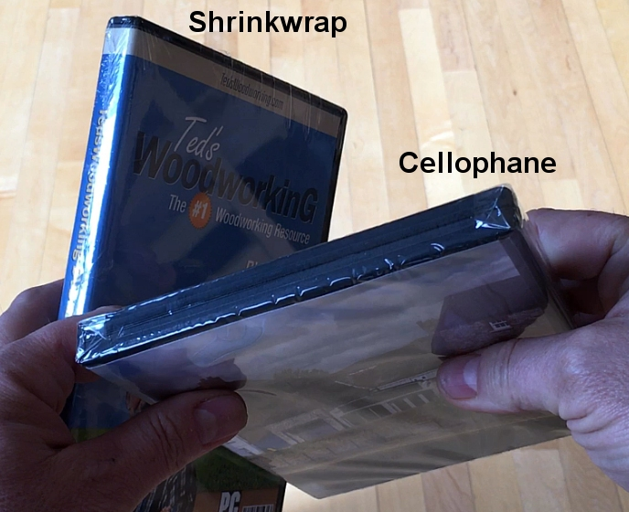 Video showing TrepStar.com shrinkwrap example compared to cellophane wrap (2 minutes).