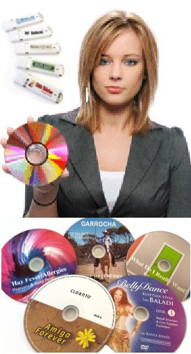 cd/dvd/usb Duplication or Single Quantity Fulfillment