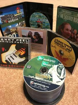 CD/DVD duplication samples